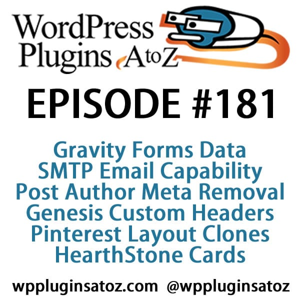 WordPress Plugins A-Z #181