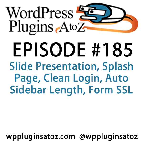 WordPress Plugins A-Z #185