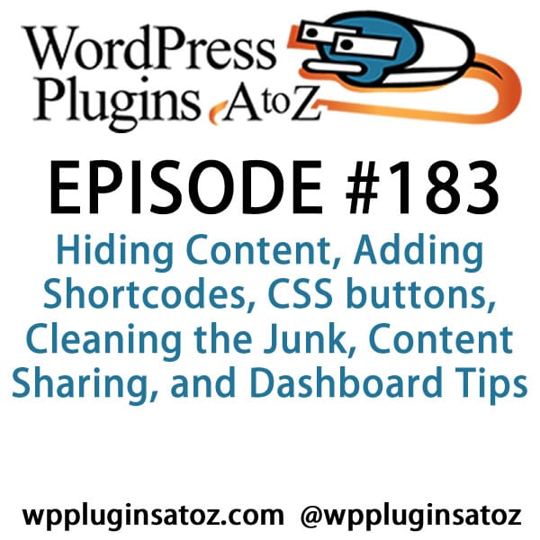 WordPress Plugins A-Z #183
