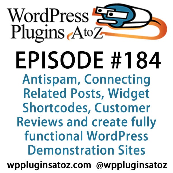 WordPress Plugins A-Z #184