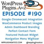 WordPress Plugins A-Z #190