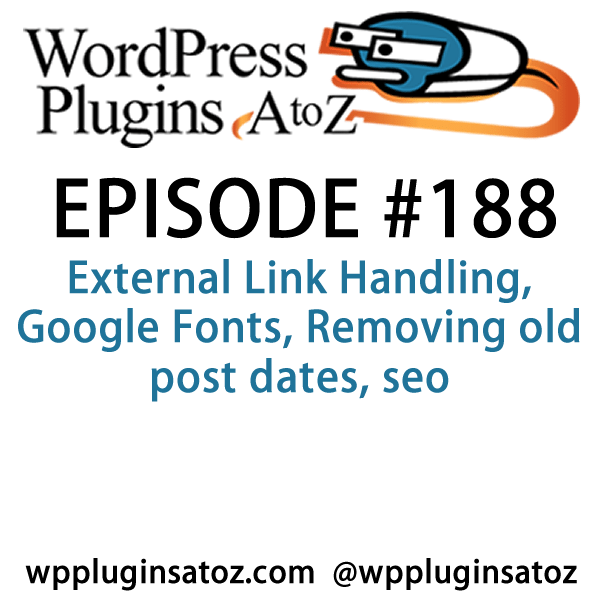 WordPress Plugins A-Z #188