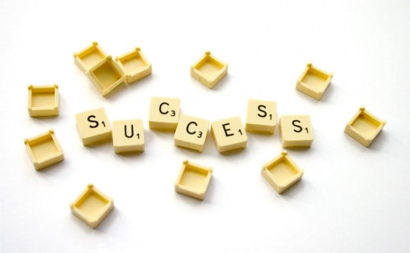 Success feels great