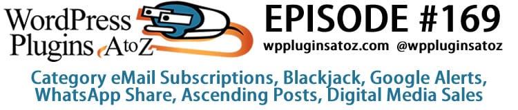 WordPress Plugins A-Z #169