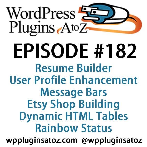 WordPress Plugins A-Z #182