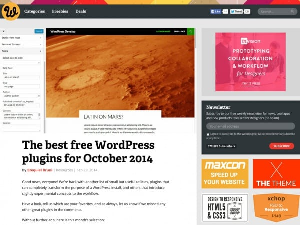 https://www.webdesignerdepot.com/2014/09/the-best-free-wordpress-plugins-for-october-2014/