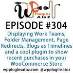 WordPress Plugins A-Z #304 Page Redirects, Blogs as Timelines