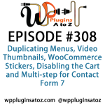 WordPress Plugins A-Z #308 WooCommerce Stickers, Disabling the Cart
