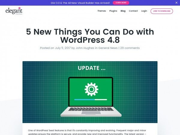 https://www.elegantthemes.com/blog/general-news/5-new-things-you-can-do-with-wordpress-4-8?utm_source=Elegant+Themes&utm_campaign=46b35ea820-WordPress_Daily&utm_medium=email&utm_term=0_c886a2fc0a-46b35ea820-51249745