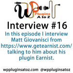 Interview Show 16 WP Plugins A to Z