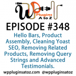 WordPress Plugins A to Z Episode 348 Product Assembly, Cleaning Yoast SEO