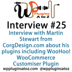 Interview Show 25 with Martin Stewart from CorgDesign.com