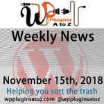 Round up of WordPress News and Tips November 15th