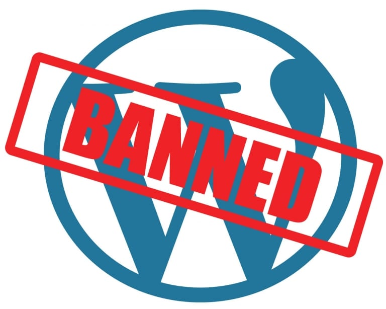Banned from WordPress.org