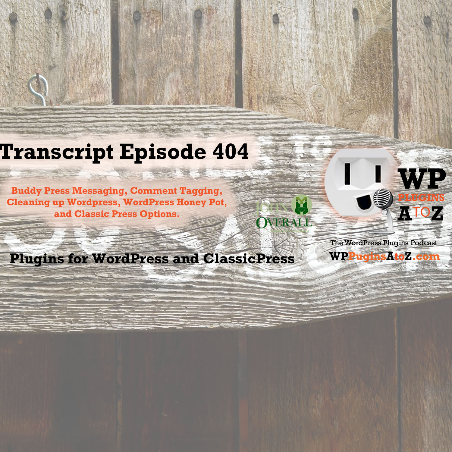 WP Plugins A to Z Transcripts Archives | WordPress Plugins A