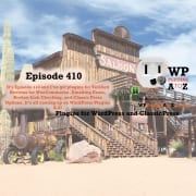the show opener over a wild west saloon
