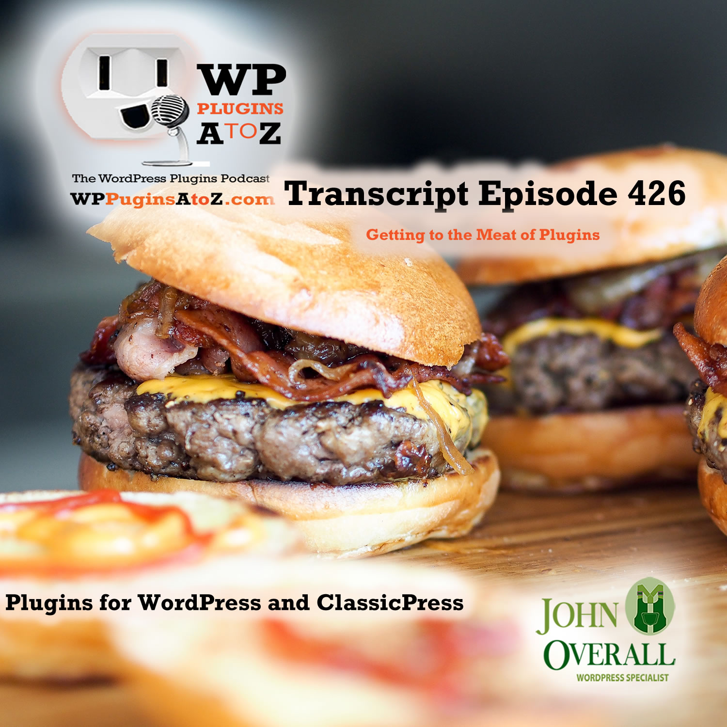 It's Episode 426 and I've got plugins for Logging in as a User, User Directories, Anti-Spam and ClassicPress Options, all coming up on WordPress Plugins A-Z!