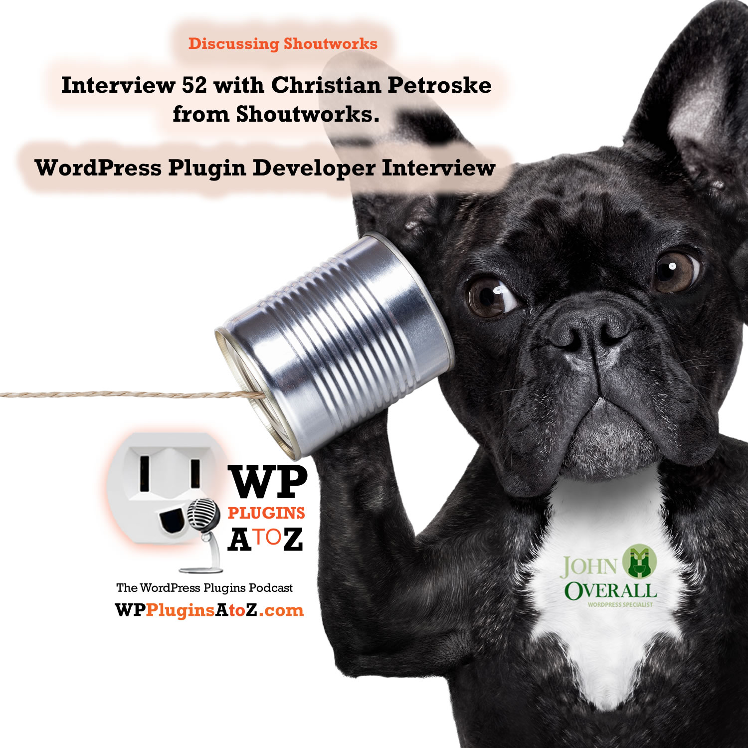 Today's interview is with Christian Petroske from ShoutWorks ShoutWorks is not only the name of the company, but also the name of the plugin that was talked about in today's interview.
