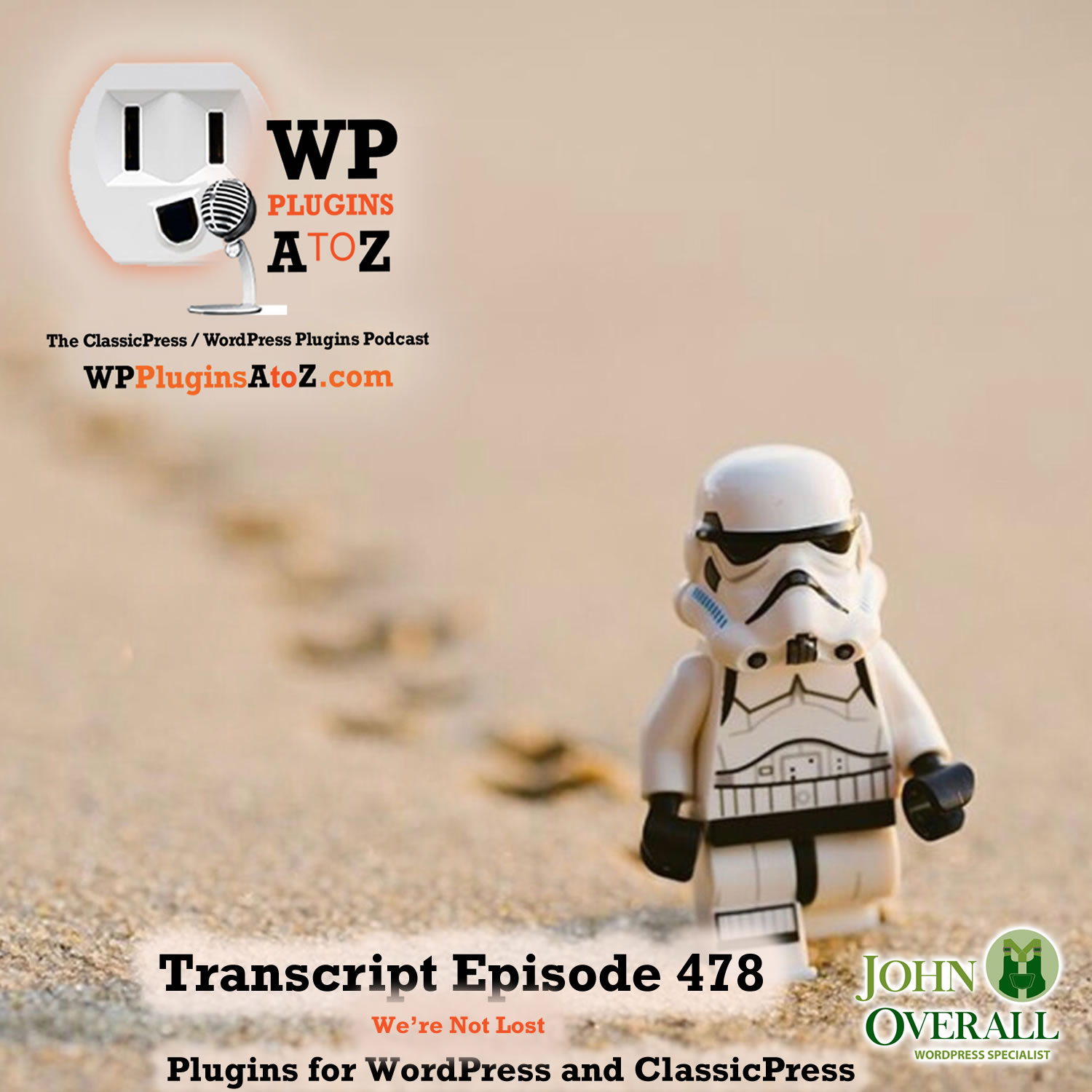 It's Episode 478 with plugins for Understanding the Body, Putting on the Protection, Getting out on the Streets, Watching for Snow, Finding the Store, Visualizing the RONA and ClassicPress Options. It's all coming up on WordPress Plugins A-Z!
