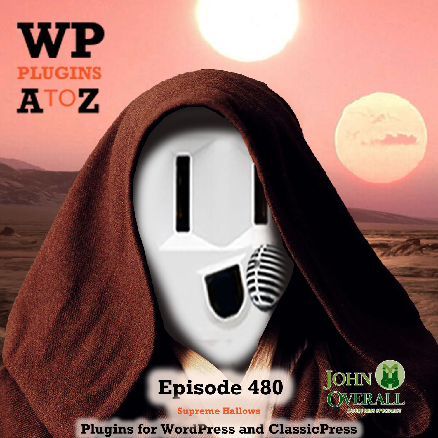 It's Episode 480 with plugins for Supreme Modules,Woo Hallows, Text Only, Relating Content, Notifications, Dispatching Files, and ClassicPress Options. It's all coming up on WordPress Plugins A-Z! WPFront Notification Bar, Contextual Related Posts, WP DISPATCHER, Supreme Modules Lite – Divi Theme - Extra Theme and Divi Builder, Haloween Woocommerce, Keep Emoticons as Text and ClassicPress options in Episode 480.