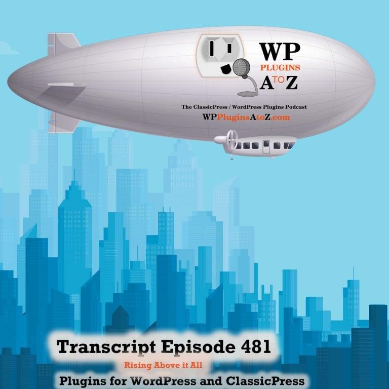 Episode 481 Transcript