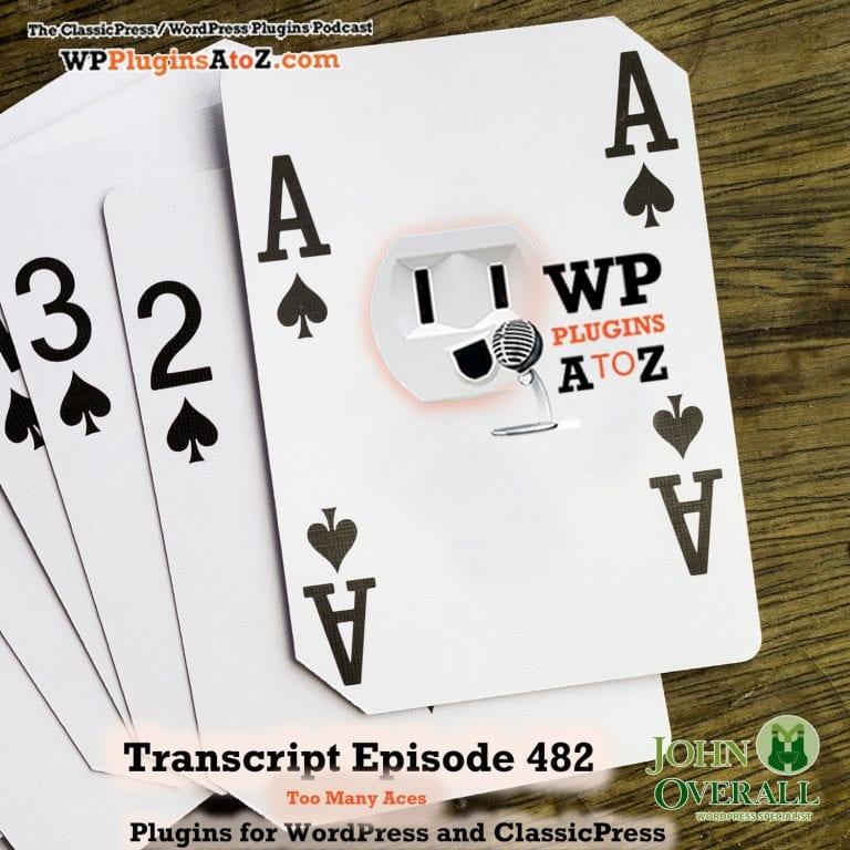 Episode 482 Transcript