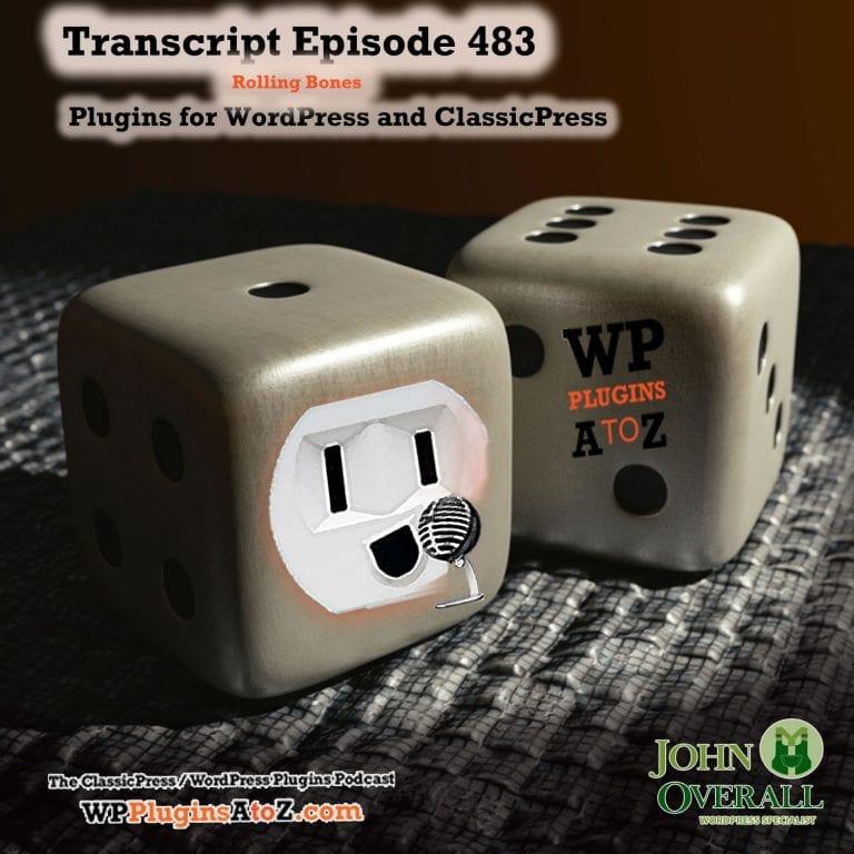 Episode 483 Transcript