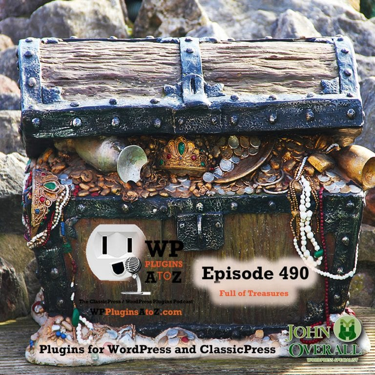 Full of Treasures It's Episode 490 with plugins for Cooking, Image Display, History, Debugging, Protection, BBQ Fire, and ClassicPress Options. It's all coming up on WordPress Plugins A-Z! Simple History, Best Image Gallery & Responsive Photo Gallery – FooGallery, WP Recipe Maker, BBQ Firewall, Debug Bar, Disable User Enumeration and ClassicPress options on Episode 490.