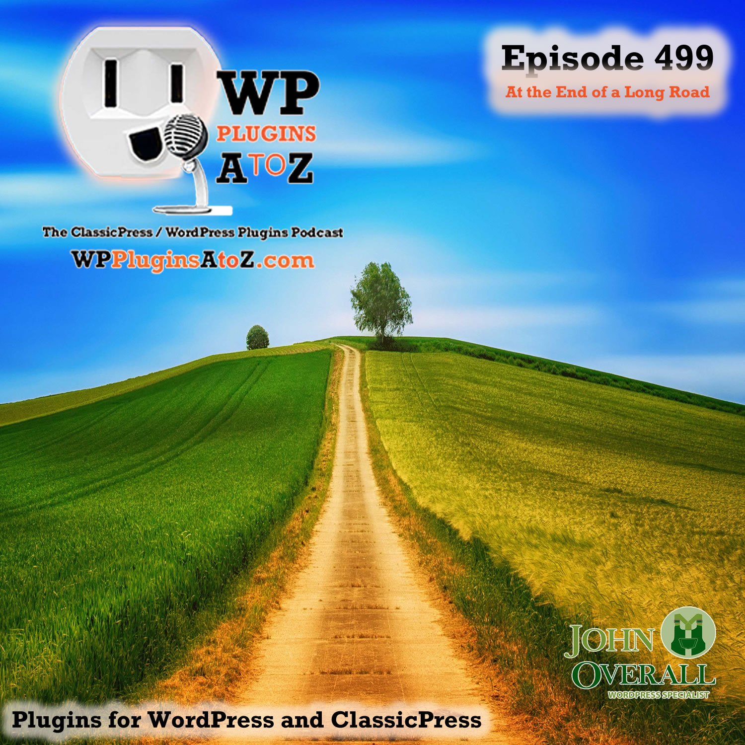 At the End of a Long Road It's Episode 499 - We have plugins for Showcasing Art, Stopping the Updates, New Thumbnails, Acting Like a User, Cooking with Gas, Saving Money ....., and ClassicPress Options. It's all coming up on WordPress Plugins A-Z! Contest Gallery – Photo Contest Plugin for WordPress, Smart Coupons for WooCommerce, reGenerate Thumbnails Advanced, Login as User, Recipe Key, TLC NO UPDATE and ClassicPress options on Episode 499.