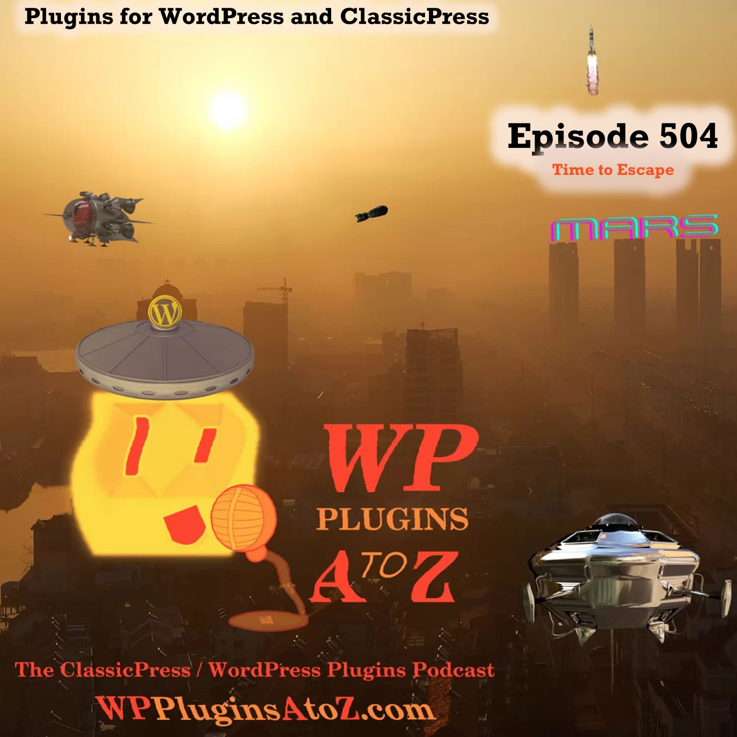 Time to Escape It's Episode 504 - We have plugins for Crypto, Duplication, Donations, Cookies, Videos....., and ClassicPress Options. It's all coming up on WordPress Plugins A-Z! Cookielay, Switch Video Quality, Embed Plus for YouTube – Gallery, Channel, Playlist, Live Stream, WPSiteSync for Content, Philantro – Donations and Donor Management Plugin, Cryptocurrency Donation Box – Bitcoin & Crypto Donations and ClassicPress options on Episode 504