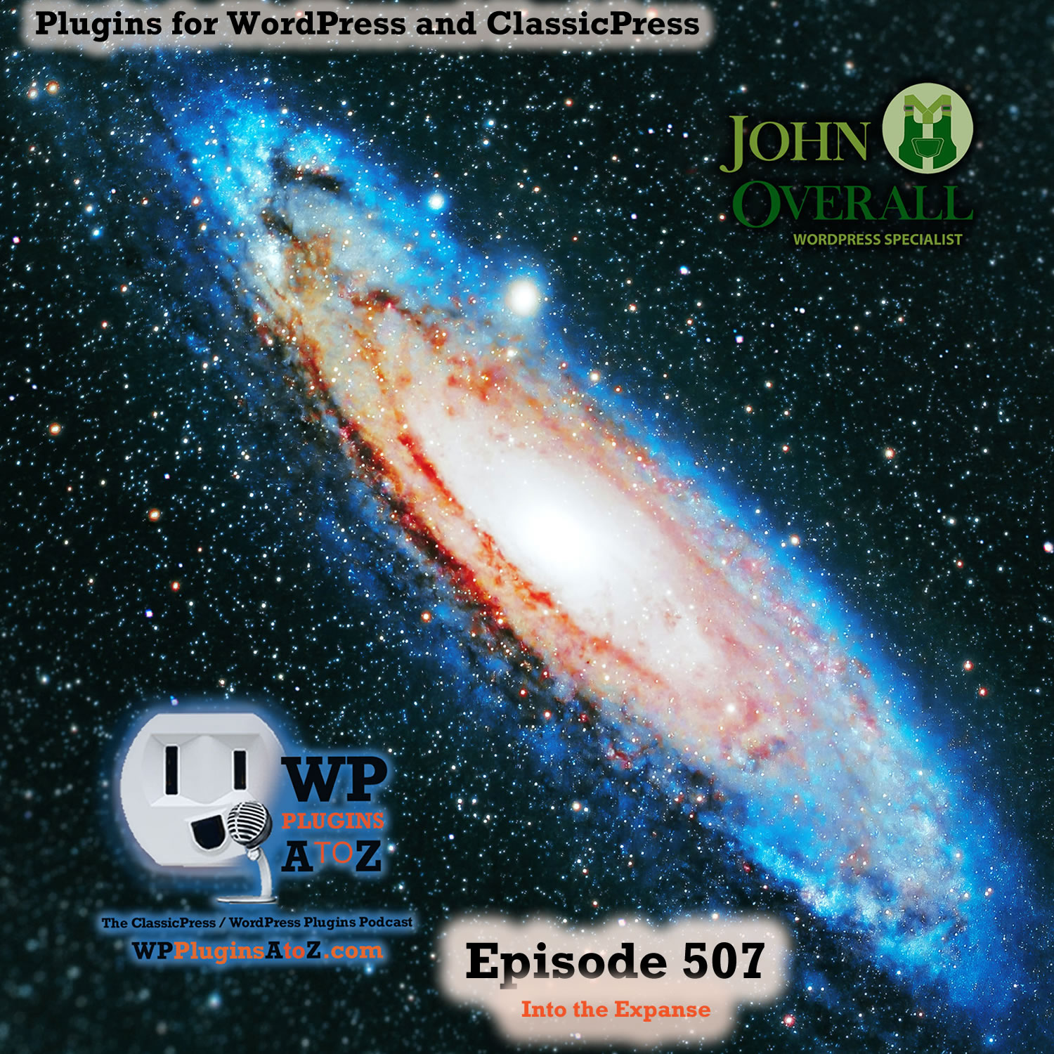 Into the Expanse It's Episode 507 - We have plugins for Stats, Links, Photos, Privacy Chat, Plugin notes...., and ClassicPress Options. It's all coming up on WordPress Plugins A-Z! Better Usage Statistics for Elementor, Internal Linking of Related Contents, Contest Gallery – Photo Contest Plugin for WordPress - contest gallery pro, Disable FLoC, Floating Chat Widget: Contact Icons, Messages, Telegram, Email, SMS, Call Button – Chaty, Plugin Notes Label and ClassicPress options on Episode 507