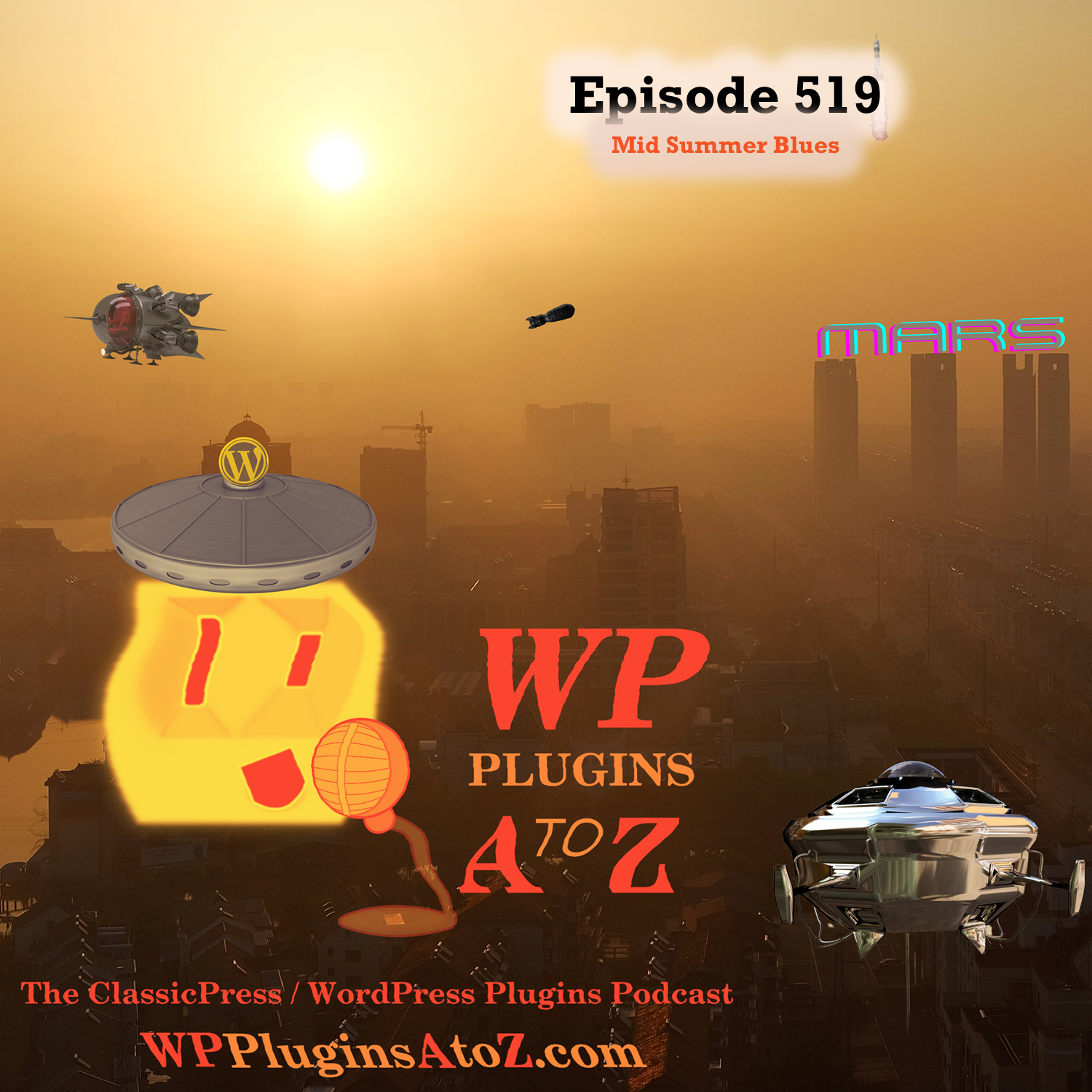 Mid Summer Blues It's Episode 519 - We have plugins for Time Wasting, Saving Time, Deliveries ... and ClassicPress Options. It's all coming up on WordPress Plugins A-Z! Orderable Pro, WoPo Minesweeper, One Page Checkout for WooCommerce ....... and ClassicPress options on Episode 519.