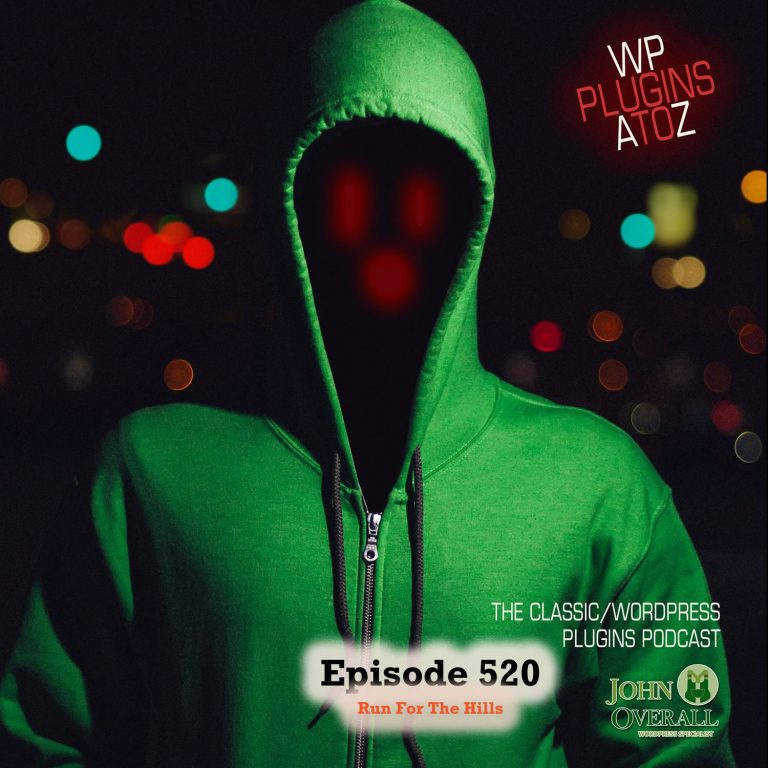It's Episode 520 - We have plugins for Social Stickiness, Getting back on top, Custom Invoices, Changing Email, Speeding up MySql... and ClassicPress Options. It's all coming up on WordPress Plugins A-Z!